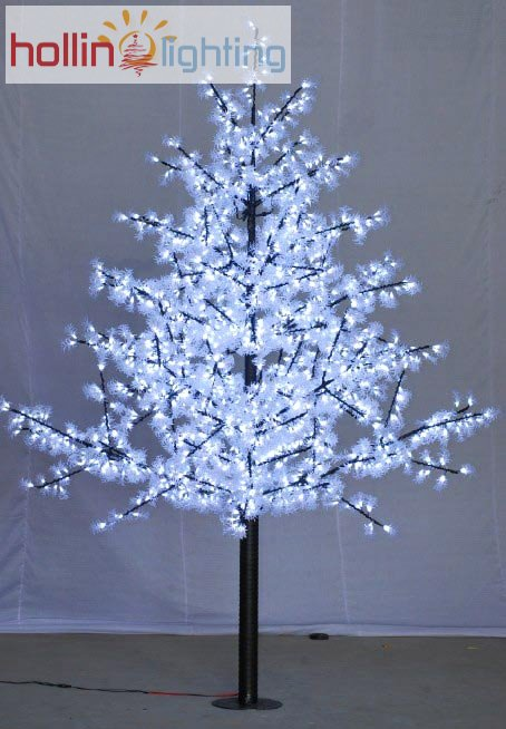 pure white led christmas tree hl ct006 hollinlighting