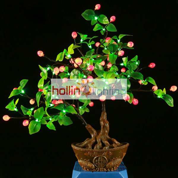 Led Bonsai Tree Table Top Tree Hl Slmt089 Hollinlighting
