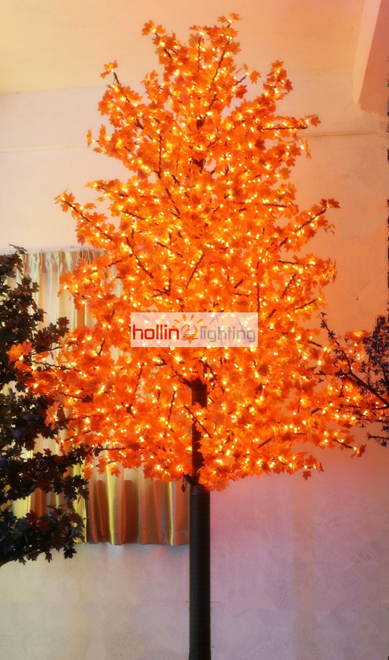 How To String Lights On A Maple Tree : Hot selling 13ft LED maple tree light HL-MT025-hollinlighting