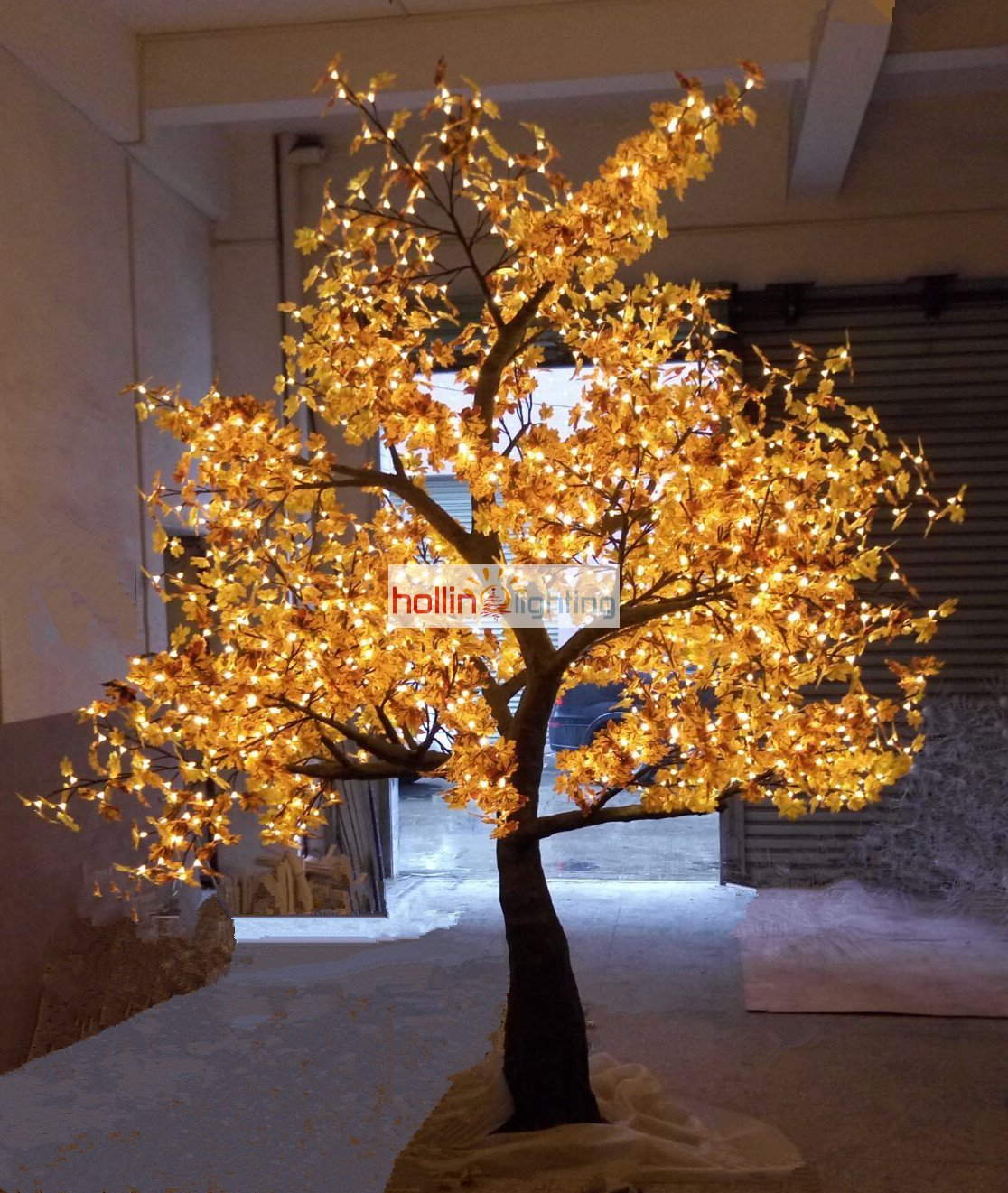 high quality led christmas tree light maple hl mt026 hollinlighting