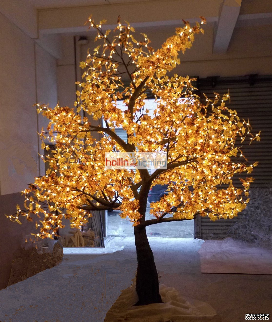 How To String Lights On A Maple Tree : High quality LED Christmas tree light maple HL-MT026-hollinlighting