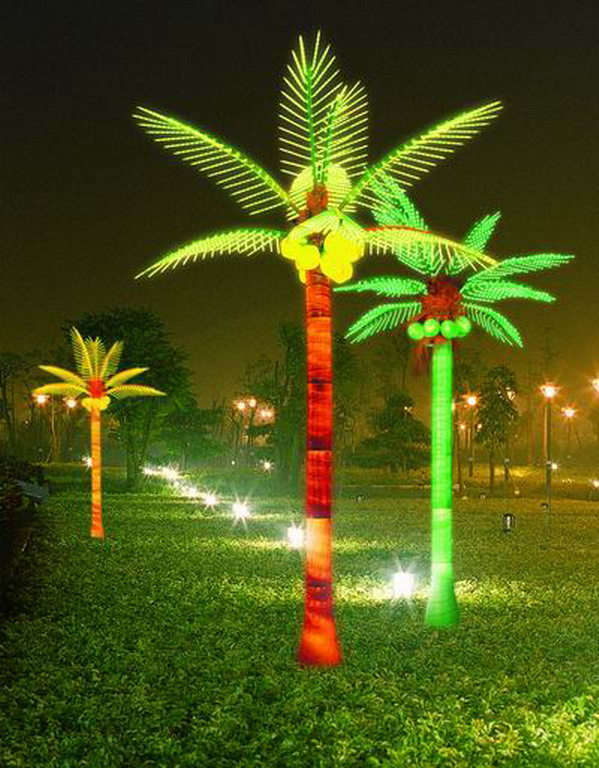 Solar String Lights For Palm Trees : led coconut tree HL-B-01-hollinlighting